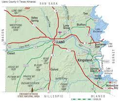 Killeen Texas Map Llano Texas Map My Blog