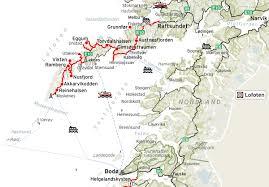 Nd Road Map Lofoten Norwegian Scenic Routes