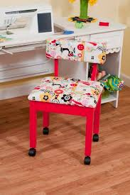 arrow cabinets sewing chair red sewing chair 3000
