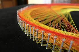 the vortex string art by mahmoud al qammari youtube