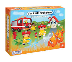 amazon com little firefighters board game toys u0026 games