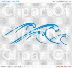 clipart ocean wave design element 1 royalty free vector