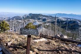 mt lemmon hiking trails map aspen trail hike lemmon