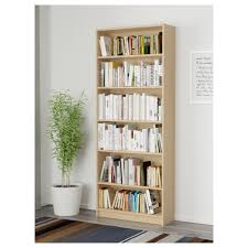 Ikea Square Shelves by Billy Bookcase Birch Veneer 80x28x202 Cm Ikea