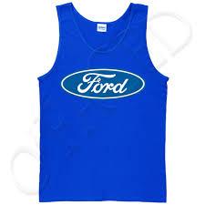 ford logo ford logo tank top for men licensed ford logo on chest tanks