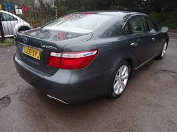 lexus full warranty used lexus ls 600h saloon 5 0 l cvt 4dr in thatcham berkshire