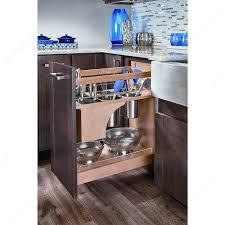 rangement ustensiles cuisine système coulissant blumotion avec rangement pour ustensiles et