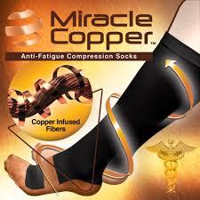 miracle copper socks compression socks asseenontv store
