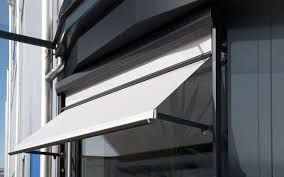 Aluminium Window Awnings Drop Arm And Window Awnings Sun Protection From Stobag