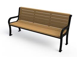 Personalized Park Bench Personalized Site Furnishings Pw Athletic Mfg Co Patterson