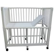 non magnetic pvc crib white