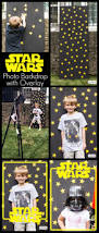 star wars birthday party photo backdrop atta says