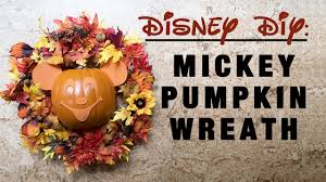 walt disney thanksgiving disney diy mickey pumpkin wreath from mnsshp main street walt