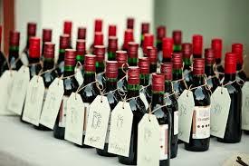 wine wedding favors wine wedding favors