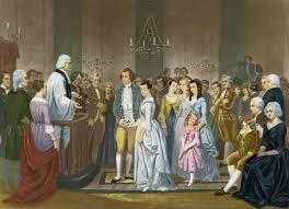 wedding of george and martha washington 1758 george washington