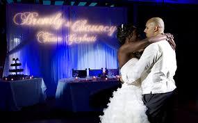 wedding backdrop monogram event pipe and drape las vegas san diego los angeles
