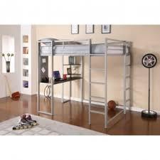 Full Size Loft Bed With Desk Underneath Foter - Full bunk bed with desk underneath