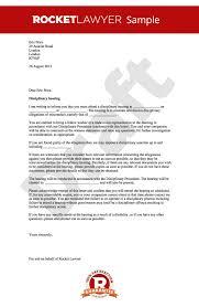 investigation report template disciplinary hearing hearing letter notice of disciplinary hearing