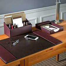 Executive Desk Organizer Personalized Desk Accessories Great Desk Accessories The Most