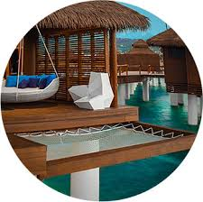 over the water suites in the caribbean sandals