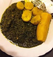 cuisiner manioc recette b g les feuilles de manioc à l huile de palme