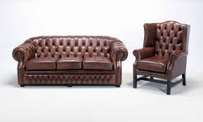 Tufted Leather Chesterfield Sofa by Chesterfield Leather Sofa Used Leather Sectional Sofa