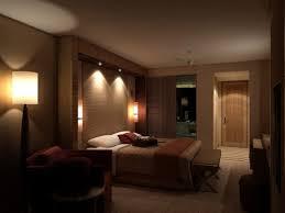 Bedroom Lighting Ideas Cool Bedroom Light On Light Brown Walls In Upscale Bedroom Bedroom
