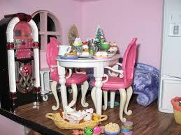 Barbie Dining Room Artsy Fartsy Barbie House