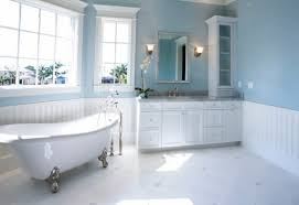 Blue And White Bathroom Ideas Black Laminated Wooden Bathroom Vanity Blue Purple Bathroom Ideas