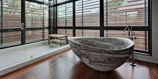 wooden bathtub stone vs wood bathtub which one is better