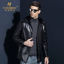 compare prices on leather jacket men hoodie online shopping buy