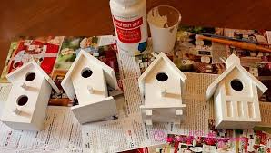 prissy ideas birdhouses crafts themed tree bird houses