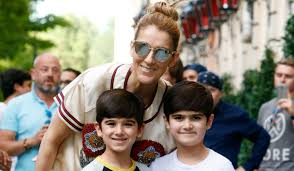 Celine Dion Home by Celine Dion U0026 Her Twins Exit Their Hotel To A Confetti Shower