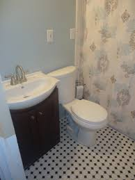 all 3 bathrooms rocky mountain sky by behr paint colors for home
