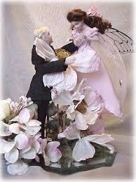 wedding cake tops custom designed porcelain wedding caketops fairy weddings fables