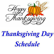 thanksgiving day schedule st cyril of alexandria houston tx