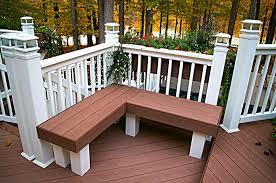 deck bench design home furniture design