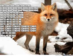 Meme Fox - these are what the fox says by x terminatah meme center