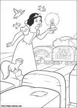 snow white coloring pages coloring book