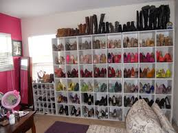 update my shoe organization shoe wall closet office 2014