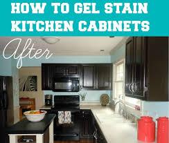 Kitchen Cabinet Stain Best 20 Gel Stain Cabinets Ideas On Pinterest Stain Kitchen