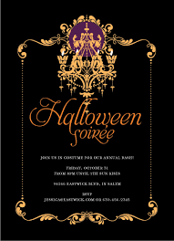 halloween party invitation template theruntime com