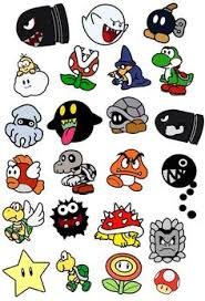 bunch screenshots art nintendo badge