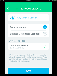 can you put a motion sensor on any light meet wink 2 devices integrations smartthings community