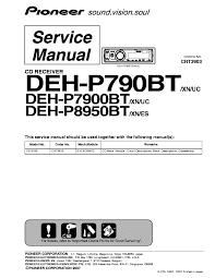 pioneer deh p790bt manual 28 images my pioneer deh p790bt won