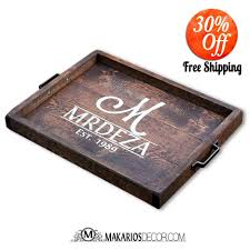 ottomans restaurant serving trays coffee table tray ideas