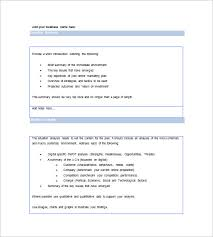 marketing plan executive summary template 11 free sample