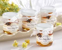 wedding favor jars sweet as can bee personalized clover honey favor jars set of 12