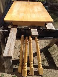 cabin kitchen table u0026 chairs refinish hometalk