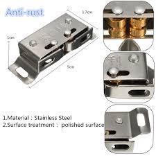 kitchen cabinet door latches stainless steel catch stopper for cupboard cabinet kitchen door